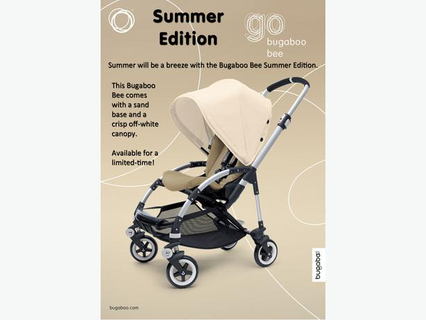 ?WANTED BUGABOO BEE + SAND FABRIC SEAT ?