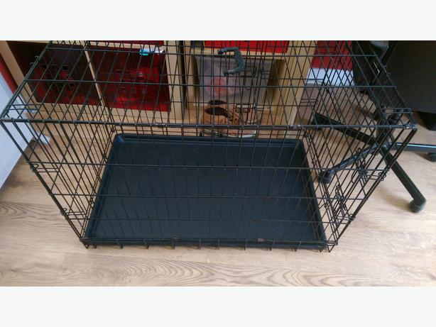 1 Large Dog Crate With Pull Out Tray Dudley Dudley