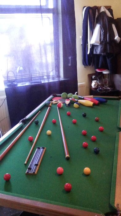 Room Needed For Snooker Table