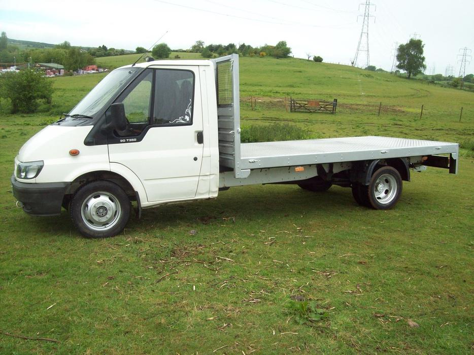 Image Result For Ford Transit Flatbed