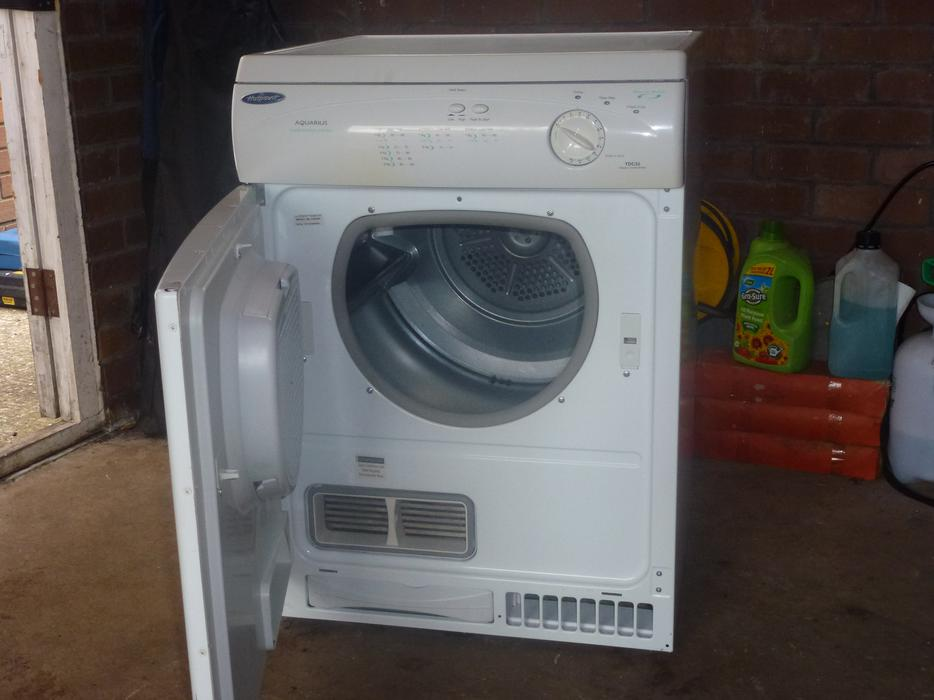 Hotpoint 7kg Condenser Tumble Dryer Model No Tdc32