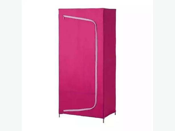pink ikea canvas wardrobe 15 sold out instore