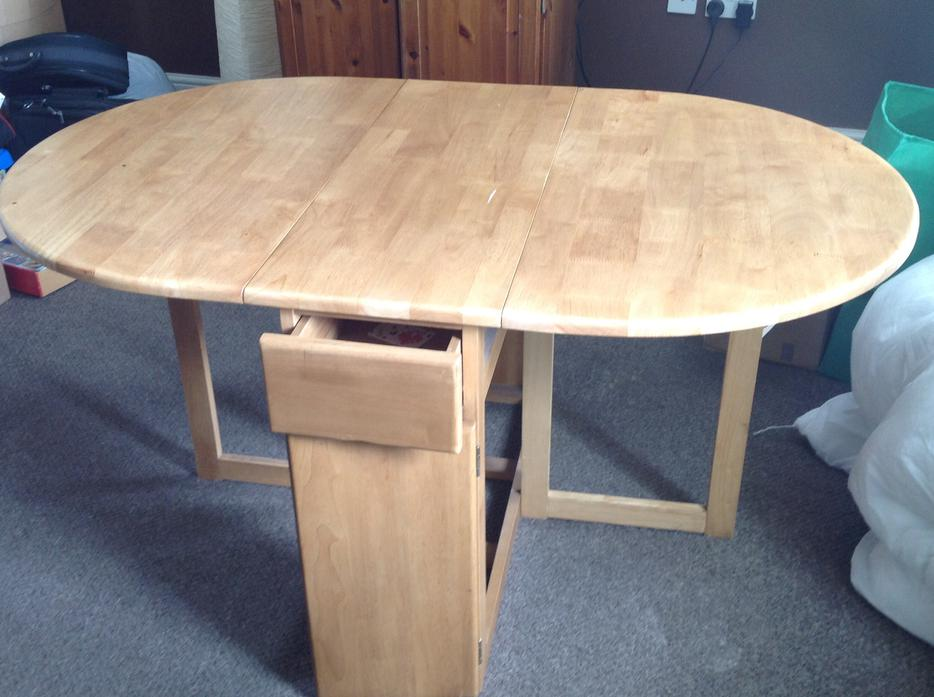 Fold Away Dining Table Dudley Wolverhampton