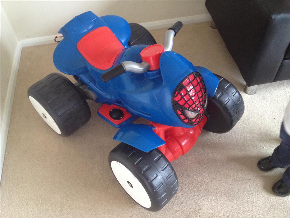 Spiderman quad bike wednesfield dudley - Quad spiderman ...