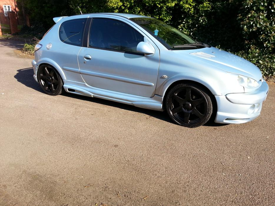 Peugeot 206 Xsi Modified Showcar With Full Audio Build