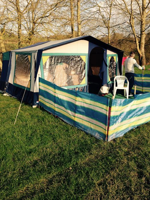 conway voyager trailer tent with awning sandwell