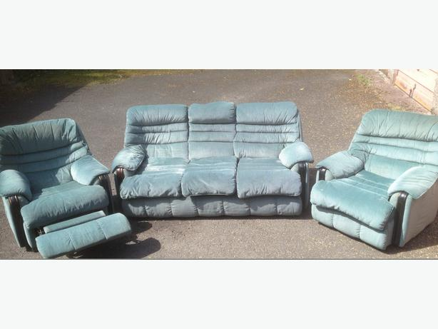 Log In needed £65 · 3 seater sofa and 2 chairs  1 chair recliner