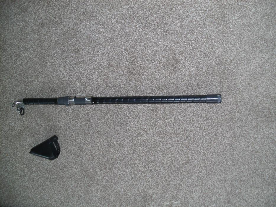 Telescopic beach or pier fishing rod kingswinford sandwell for Best pier fishing rod