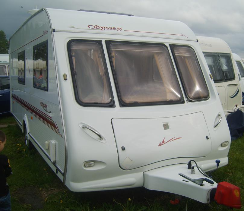 Elddis Odyssey 524 2002 Four Berth Caravan End Bathroom