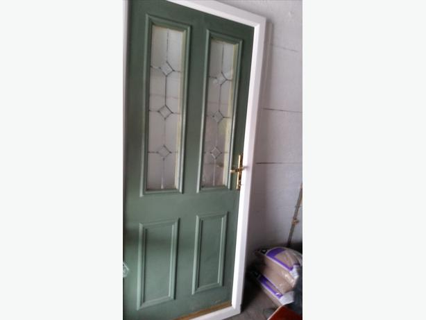 Pvc Door Frame : Wooden pvc frame exterior door other sandwell