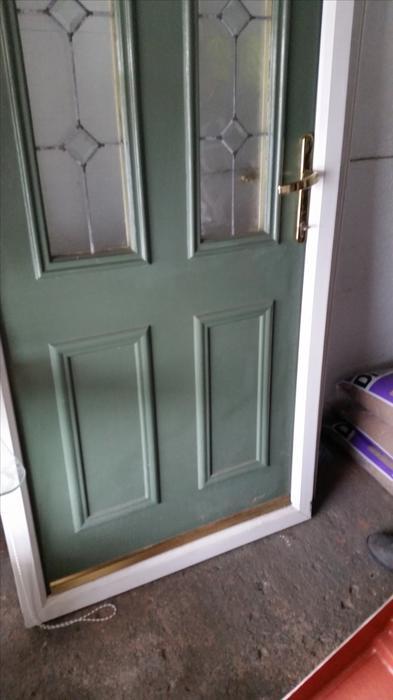 Wooden Pvc Frame Exterior Door Other Sandwell