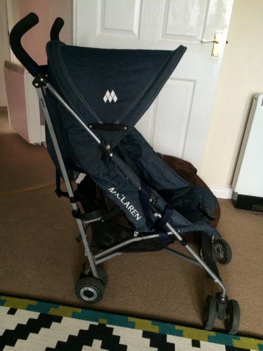 Maclaren Quest Denim Stroller Pushchair Wednesbury Sandwell
