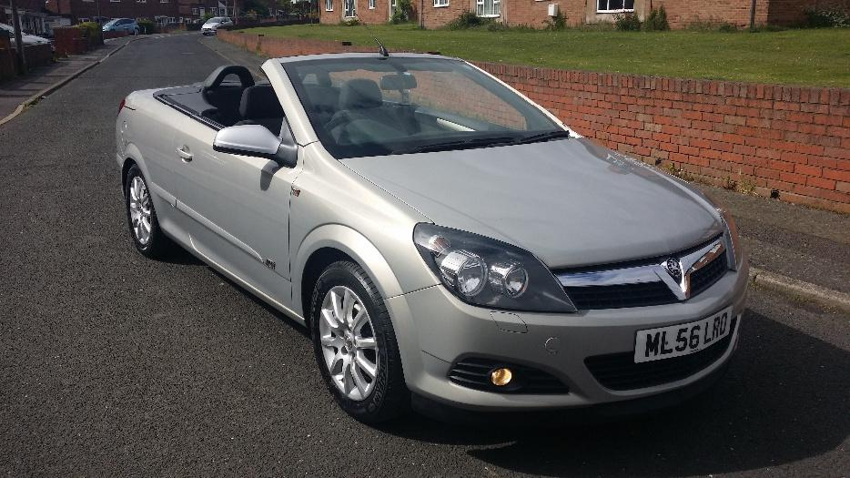 56 Plate Vauxhall Astra Twin Top Sport Convertible Dudley