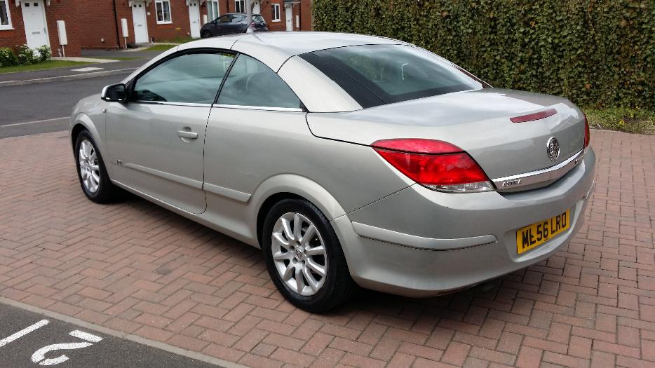 Plate vauxhall astra twin top sport convertible dudley
