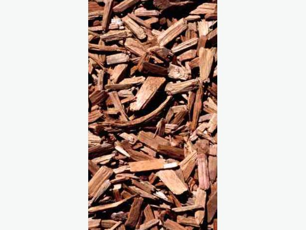 WANTED: WOOD CHIP TREE BARK  CASH WAITING - QUICK COLLECTION