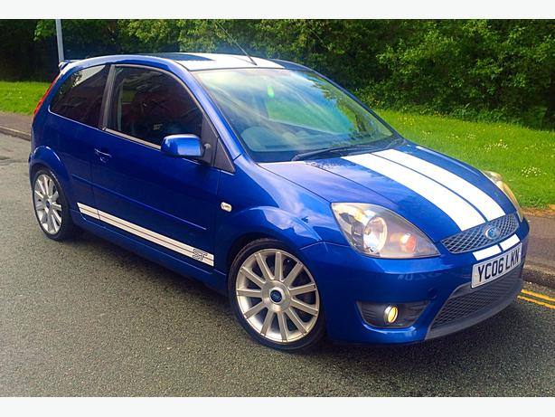 2006 ford fiesta st blue walsall wolverhampton. Black Bedroom Furniture Sets. Home Design Ideas