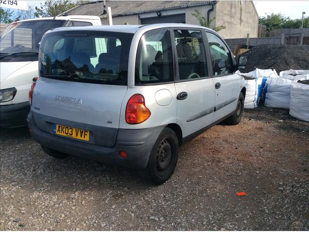 fiat multipla diesel 6 seats manual 03 reg no offers please read add brierley hill dudley. Black Bedroom Furniture Sets. Home Design Ideas