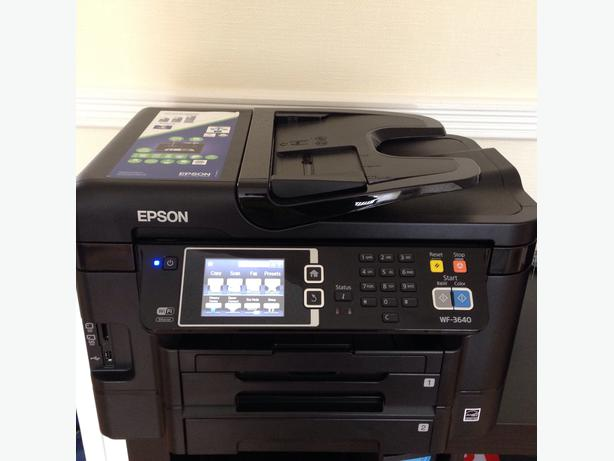 how to set up epson wf 3640 printer