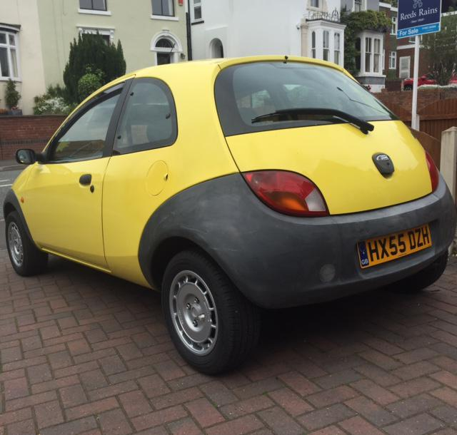 Ford Ka In Yellow  Miles Compomotive Th Mono Alloys Fitted Wolverhampton Sandwell
