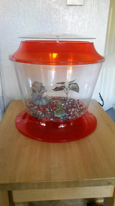 Large fish tank bowl accessories for sale rowley regis for Fish bowl drinks near me