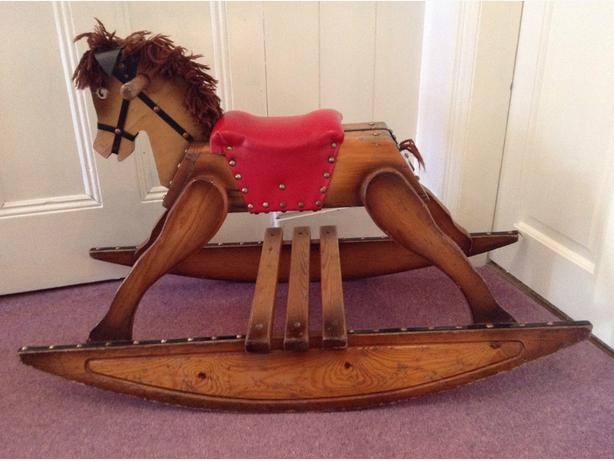 Vintage wooden rocking horse walsall wolverhampton
