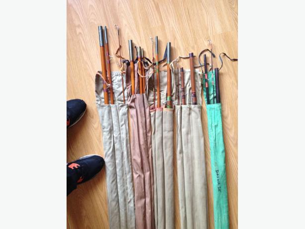 5 fishing rods 40 tipton dudley for Tap tap fish corgi