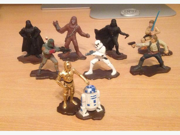 Star Wars Characters Toys : Star wars die cast metal figures by kenner halesowen dudley