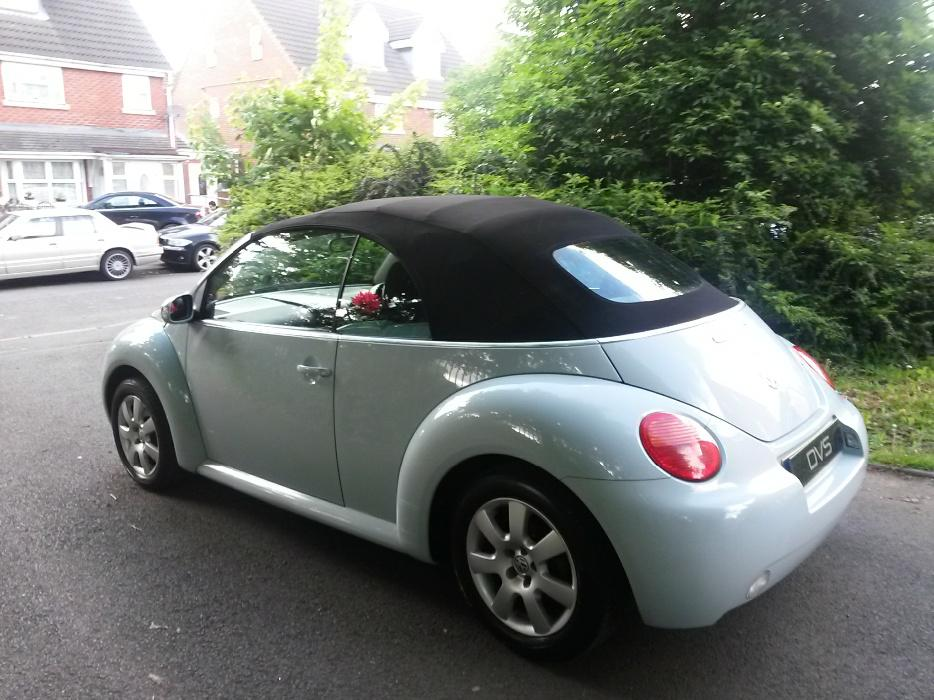 vw beetle cabriolet convertible   rare baby blue full vw history smethwick dudley