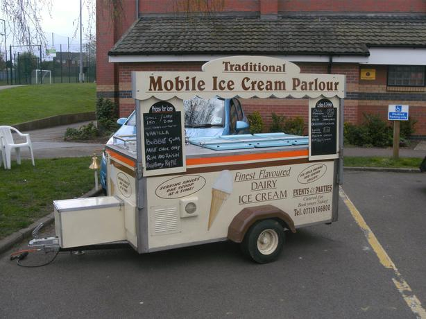 Mobile Ice cream van catering van