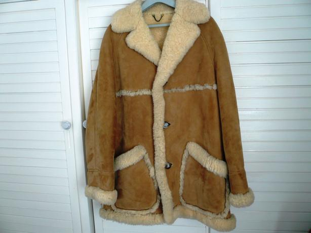 Del Boy Sheepskin Coat - Coat Racks
