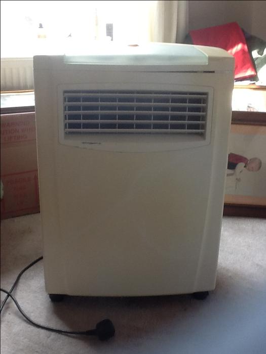 Portable Air Conditioning Unit Outside Black Country