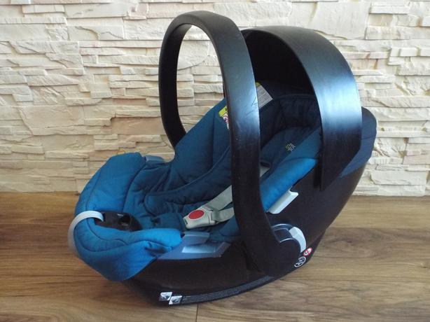 Mamas and Papas Cybex Aton rear facing car seat Blue *** Wednesbury