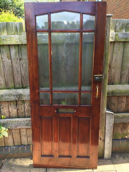 solid wood exterior front door walsall dudley