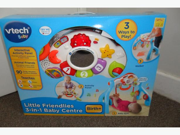 Vtech Baby Centre 3 In 1 Baby Gymwalker With Box And Instructions