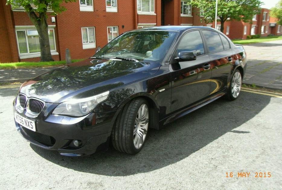bmw 525d m sport auto 2006 56 plate wolverhampton sandwell. Black Bedroom Furniture Sets. Home Design Ideas