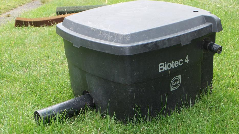 Bio filter box willenhall dudley mobile for Used pond filter for sale