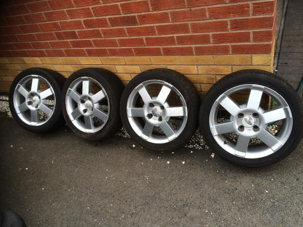 Ford Ka Sport Alloys And Tyres