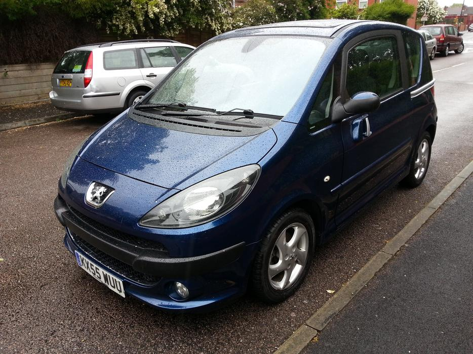 peugeot 1007 sport 1 6 16v semi auto high spec 2006 plate wolverhampton dudley. Black Bedroom Furniture Sets. Home Design Ideas