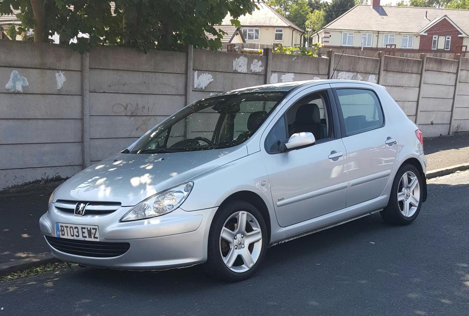 2003 peugeot 307 2 0 hdi d turbo 5 door sandwell. Black Bedroom Furniture Sets. Home Design Ideas