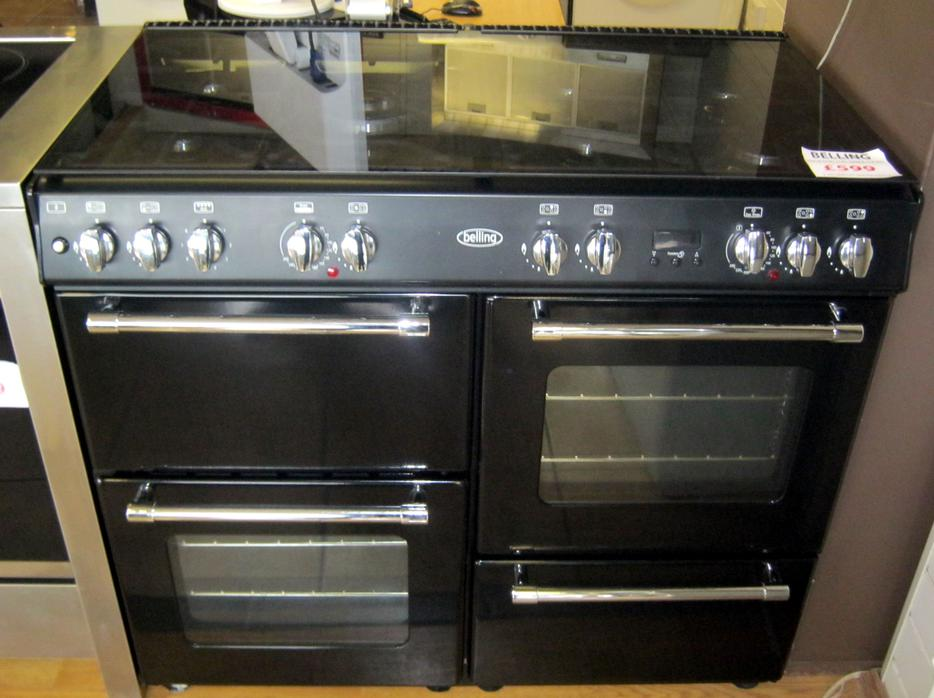 Cm Dual Fuel Range Cooker With Glass Lid