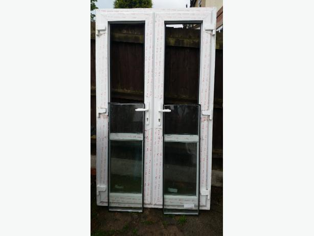 Upvc french doors coseley sandwell for Upvc french doors used