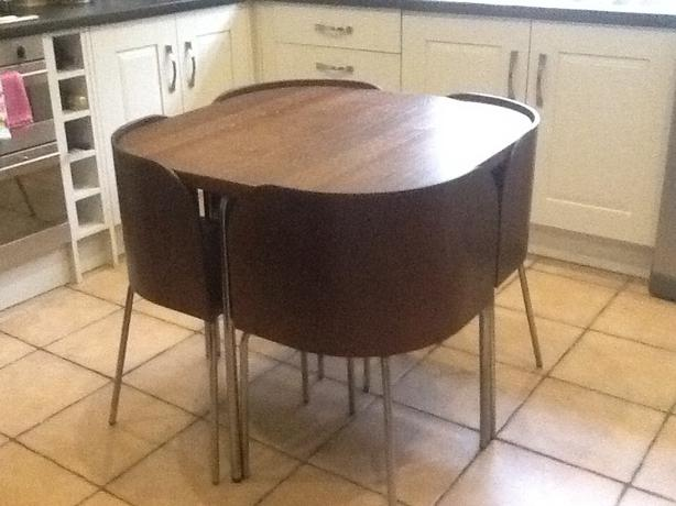 Ikea Fusion space saving table amp chairs kitchendining room