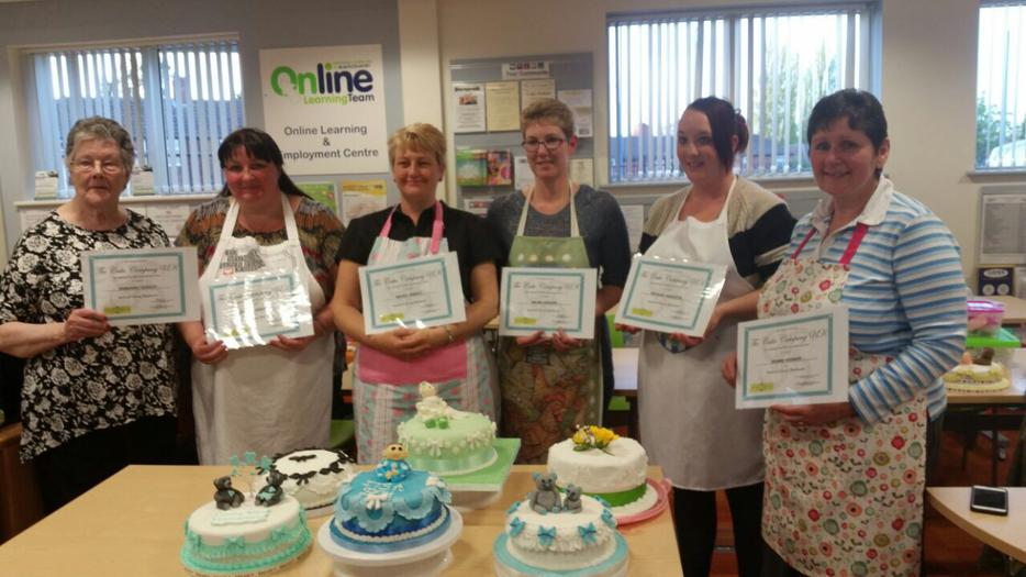 Cake Decorating Course Wolverhampton : Cake decorating school Halesowen, Wolverhampton