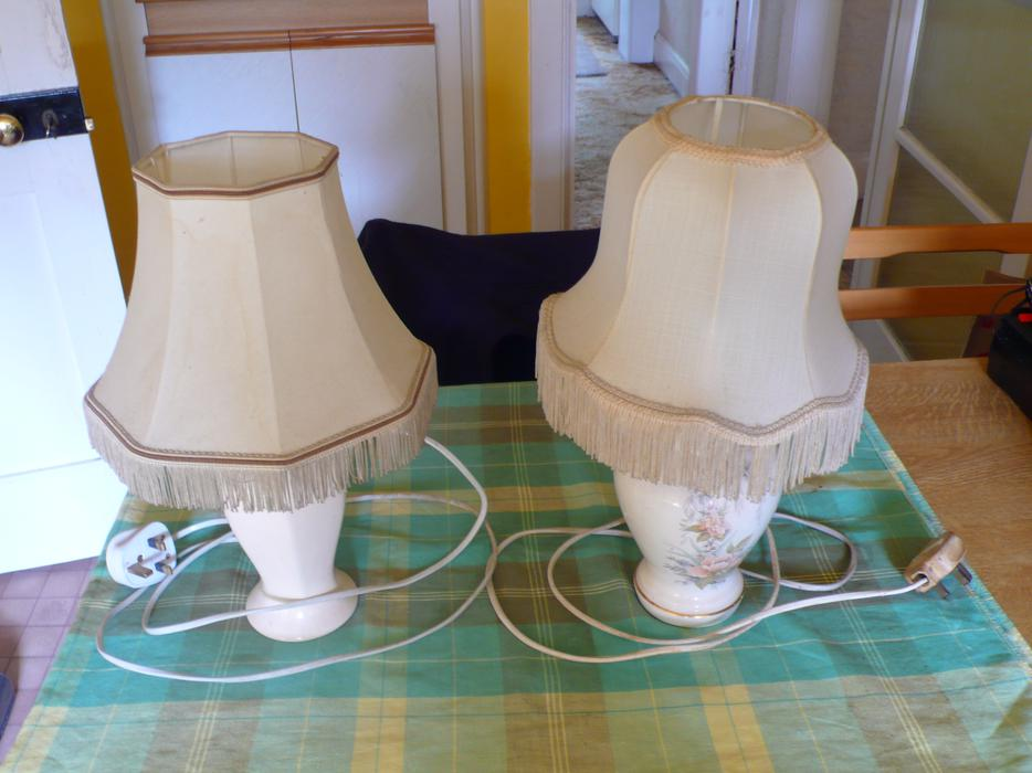two electric table lamps wolverhampton wolverhampton