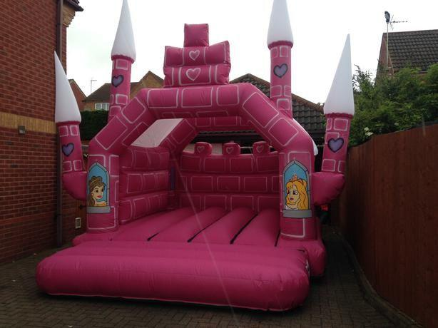 12X15 PRINCESS BOUNCY CASTLE
