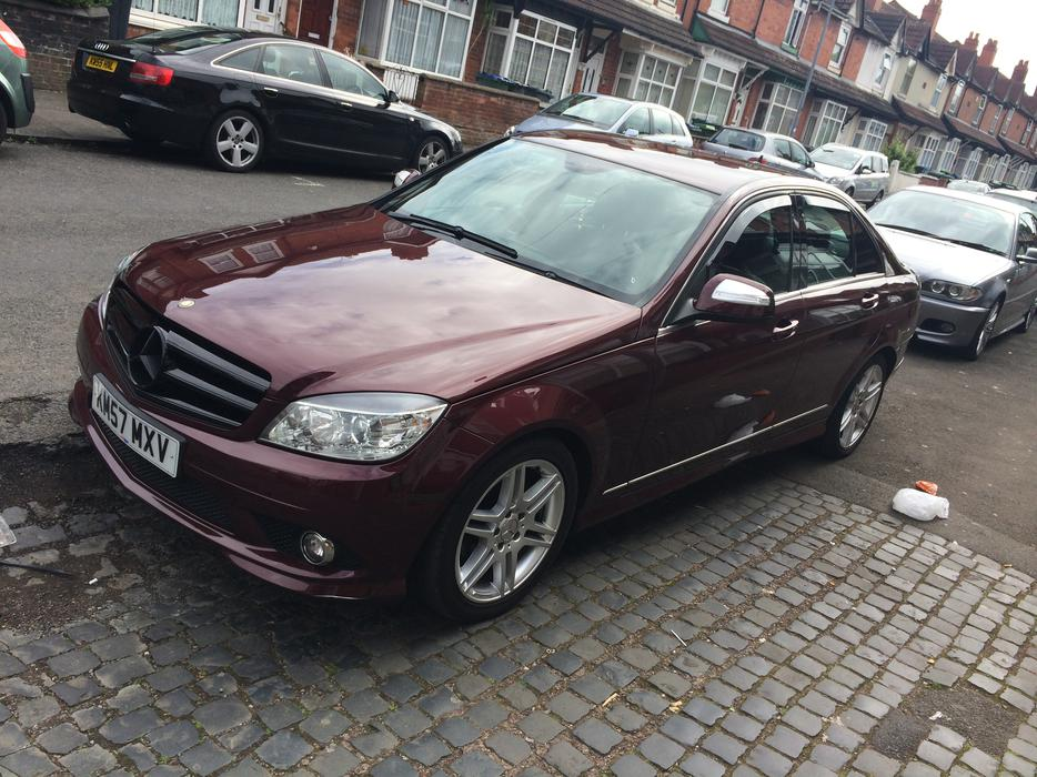 mercedes benz 2008 c200 cdi sport amg 2 2 turbo diesel rare colour smethwick dudley. Black Bedroom Furniture Sets. Home Design Ideas