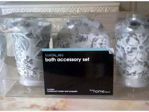 bath accessory set