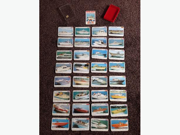 top trumps motor yachts card game