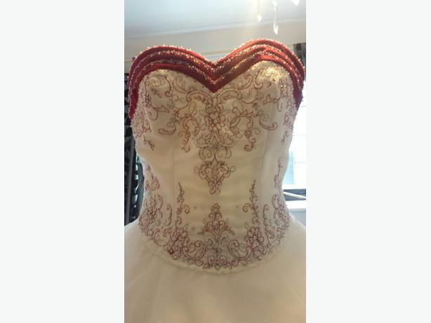 stunning mori lee wedding dress size 12