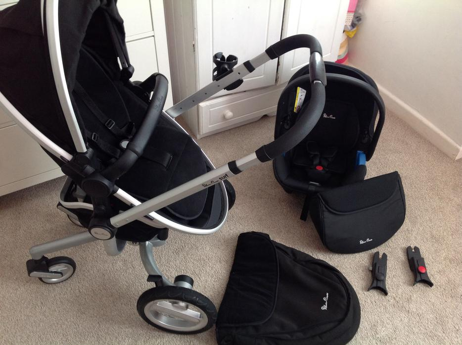 silver cross surf pram pushchair car seat wednesbury sandwell. Black Bedroom Furniture Sets. Home Design Ideas